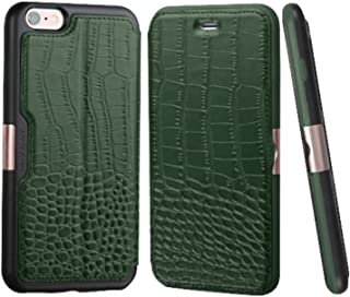 MyBat Wallet Case for Apple iPhone 6s/6 - Retail Packaging - Black/Green