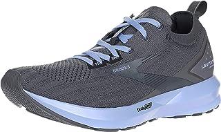 Brooks Womens Levitate 3 Running Shoes, Black/Ebony/Silver