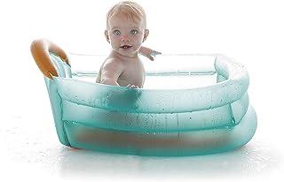 Jane 040521C01 - Banera Hinchable 3 Posiciones- Uso desde Recien Nacido- Capacidad de 30 litros- con Separador y Reposacabezas