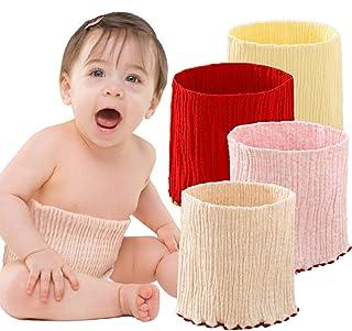 【 伸縮性抜群 】iikuru 赤ちゃん 腹巻 オーガニック コットン かわいい ベビー 腹巻き 綿 女の子 子供 新生児 はらまき 4枚セット y303