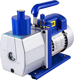 Mophorn Vacuum Pump 7 CFM 1/2 HP Single Stage Air Conditioning Vacuum Pump 110V 5PA Ultimate Vacuum Refrigerant HVAC Air T...