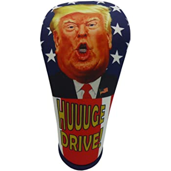 BeeJo's President Trump HUUUGE Drive Driver Golf Club Head Cover Large 460CC Made in The USA