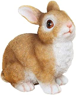 PPCP Rabbit Statue Hare Sculpture Resin Handicrafts Gifts Home Decoration Figurines Decorative Living Room Porch Wine Cabi...