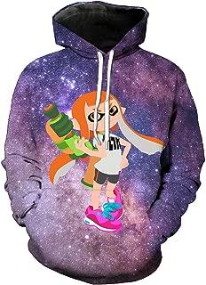 Qushy Women Splatoon 2 Hoodie Outwear Jacket
