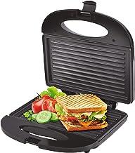 Machine à sandwich avec plaque anti-adhésive 750 W avec fermeture, étanchéité parfaite, brossage rapide uniforme et propre.