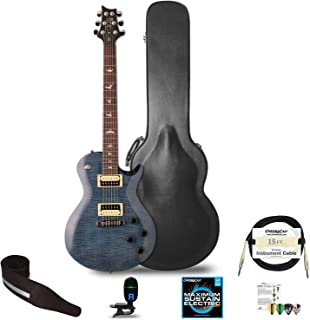 PRS SE Standard 245 Electric Guitar with Accessories, Whale Blue
