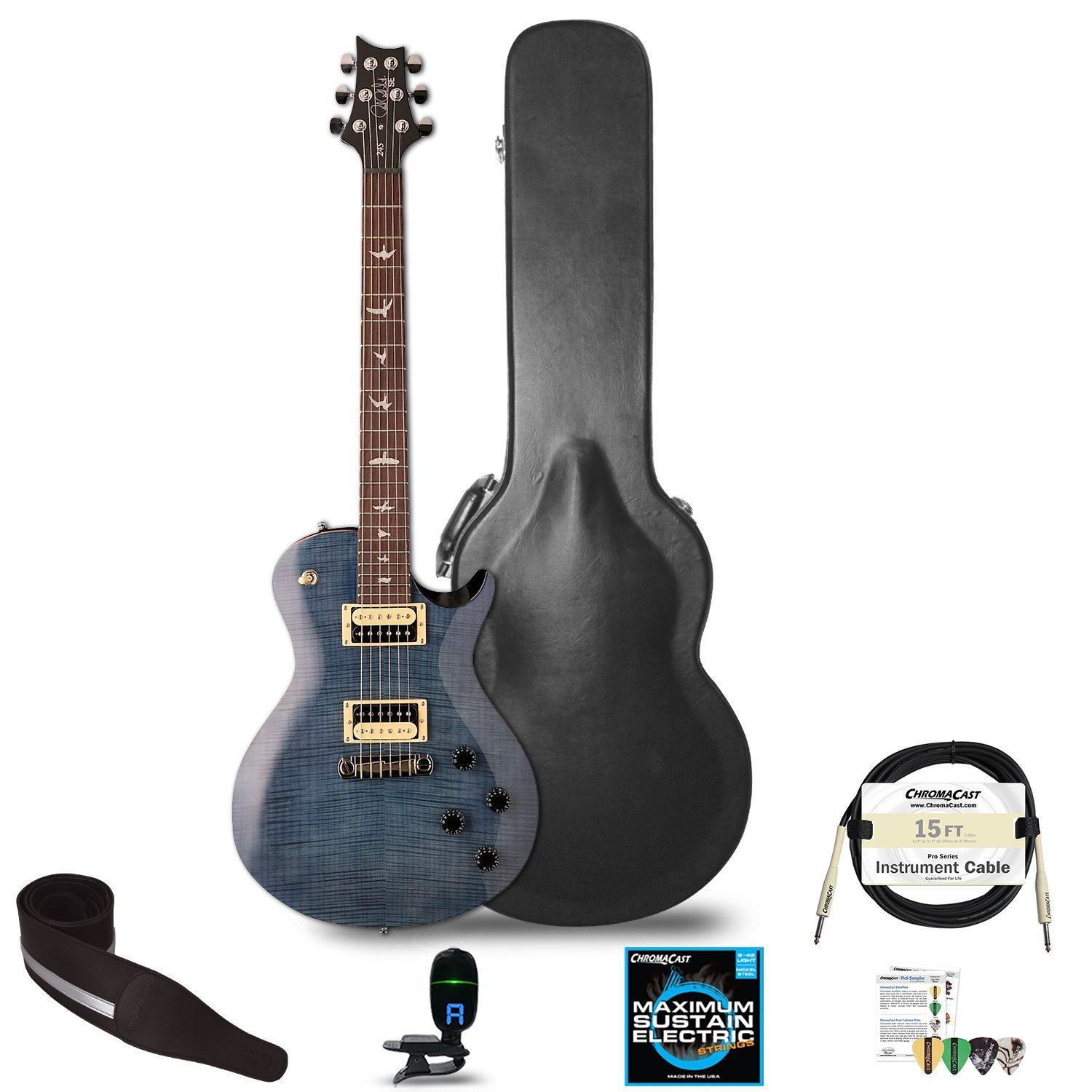 Cheap PRS SE Standard 245 Electric Guitar with Accessories Whale Blue Black Friday & Cyber Monday 2019