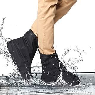 Funda para Zapatos Impermeable, Antideslizante, Reutilizable, para Lluvia y Nieve, protección para el Aire Libre, para Mujeres y Hombres