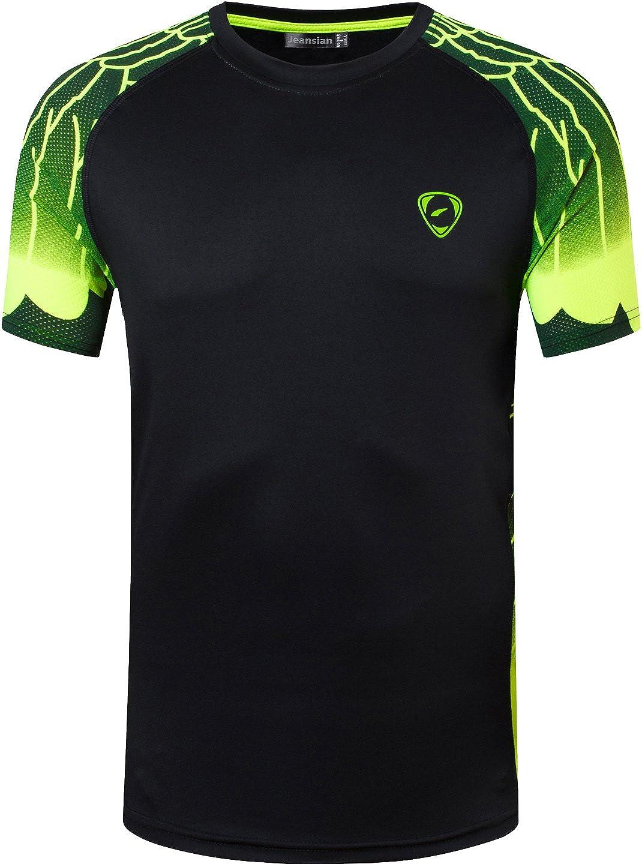 jeansian Herren Sportswear Dry Fit Sport Tee Shirt Tshirt T Shirt ...