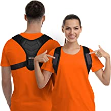 Posture Corrector for Men and Women, Upper Back Brace for Clavicle Support, Adjustable Back Straightener and Providing Pai...