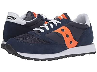 Saucony Originals Jazz Original Vintage (Navy/Orange) Men
