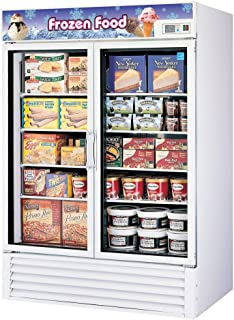 Turbo Air TGF-49F Freezer Merchandiser Two-Section 49 Cu Ft.