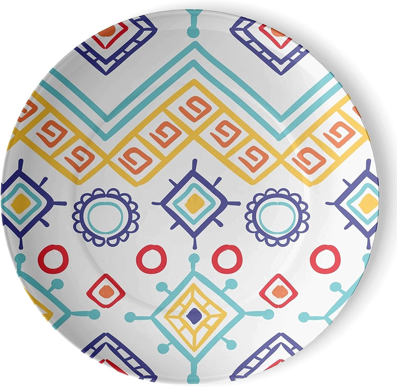 Max 73% OFF gaeruite Bohemia Boho Decorative Ceramic Wall online shopping Custo Can be Plate