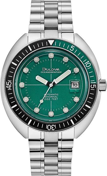 Orologio bulova armbanduhr 96b322 herrenuhr