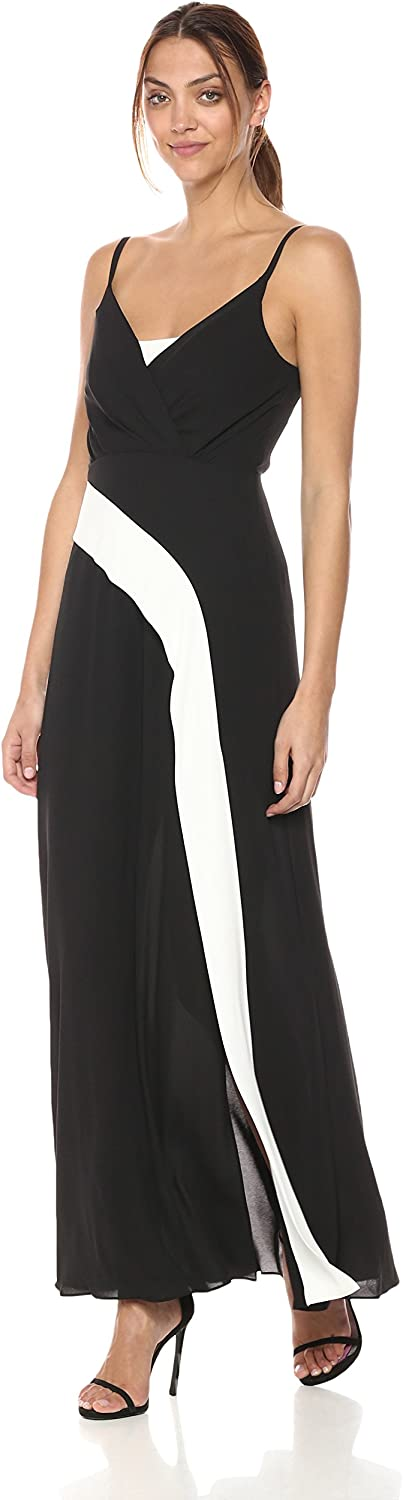 BCBGMAXAZRIA Womens Florence Woven Evening Dress Special Occasion Dress