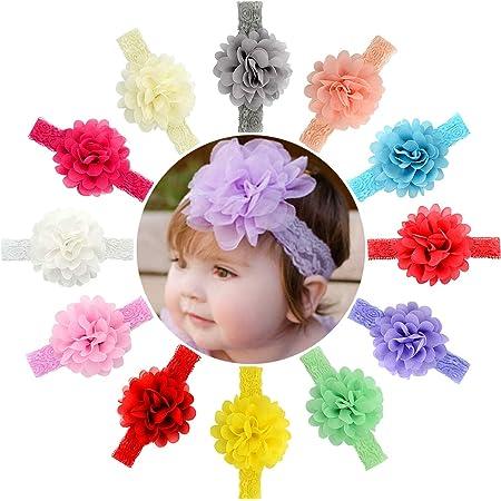 Baby Headband Infant Headband Christmas Hairbow 3.5 Flower Christmas Headband Baby Girl Headband Baby Bow Red and Green Headband