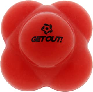 Get Out! Baseball Agility Reaction Ball for Developing Exceptional Hand-Eye Coordination