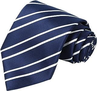 navy pinstripe tie