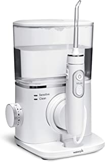 Waterpik Water Flosser Radiance Electric Countertop Dental Oral Irrigator with 7 Tips