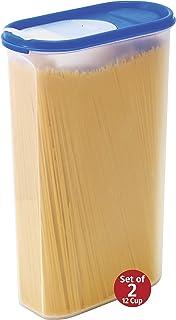 عبوات تخزين الطعام -STACKO- 20 قطعة - حافظة طعام جافة محكمة الغلق مع غطاء,, بلاستيك, 12 Cup (2 Pack)