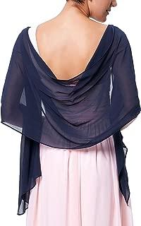 Soft Chiffon Scarve Shawls Wraps and Pashmina for Evening Party KK229