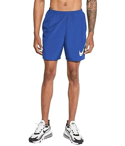 Nike Run Shorts 7 Brief Windrunner Graphic (Game Royal/White) Men