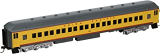 Bachmann Industries Union Pacific #1115 Yellow 72' Heavyweight Coach with Lighted Interior