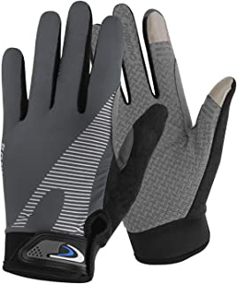 Holiberty Cycling Gloves Full Finger Touch Screen for Women Men Breathable Non-Slip Motorcycle Mountain Bike Riding Gloves...