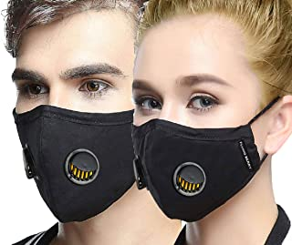 Flying Berry N99 Comfortable Anti Pollution Face Mask | Breathing Valve | Premium Quality(Pack of 1)