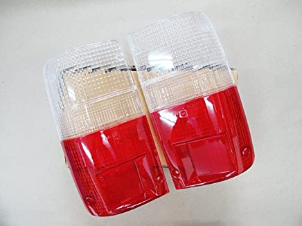 Tail Light Lens Toyota Hilux Pickup Truck Clear-red Lenses Pair Left Right Year 1989