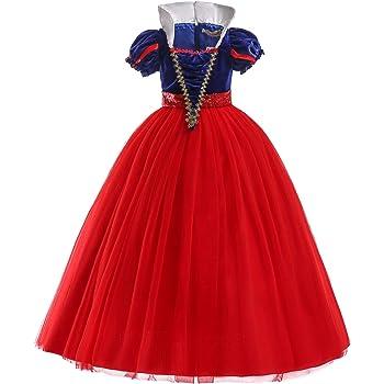 2-3 Ans, Bleu ELSA /& ANNA/® Filles Reine des Neiges Princesse Partie Costum/ée D/éguisements Robe de Soir/ée FR-SNWBLU02