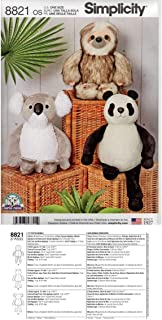 panda bear pattern sew