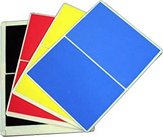 Ace Martial Arts Supply Rebreakable Board Taekwondo, MMA, Karate-Set, Yellow, Blue, Red & Black