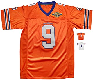 6d1216b9516 Micjersey Waterboy Football Jersey, Stitched #9 Bobby Boucher 50th  Anniversary Movie Football Jerseys S