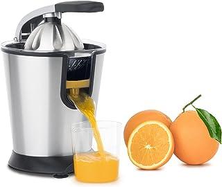 H.Koenig Presse Agrumes Electrique levier professionnel Inox AGR80 Sans BPA, Jus Orange, Citron, Pamplemousse, Rapide, Aut...