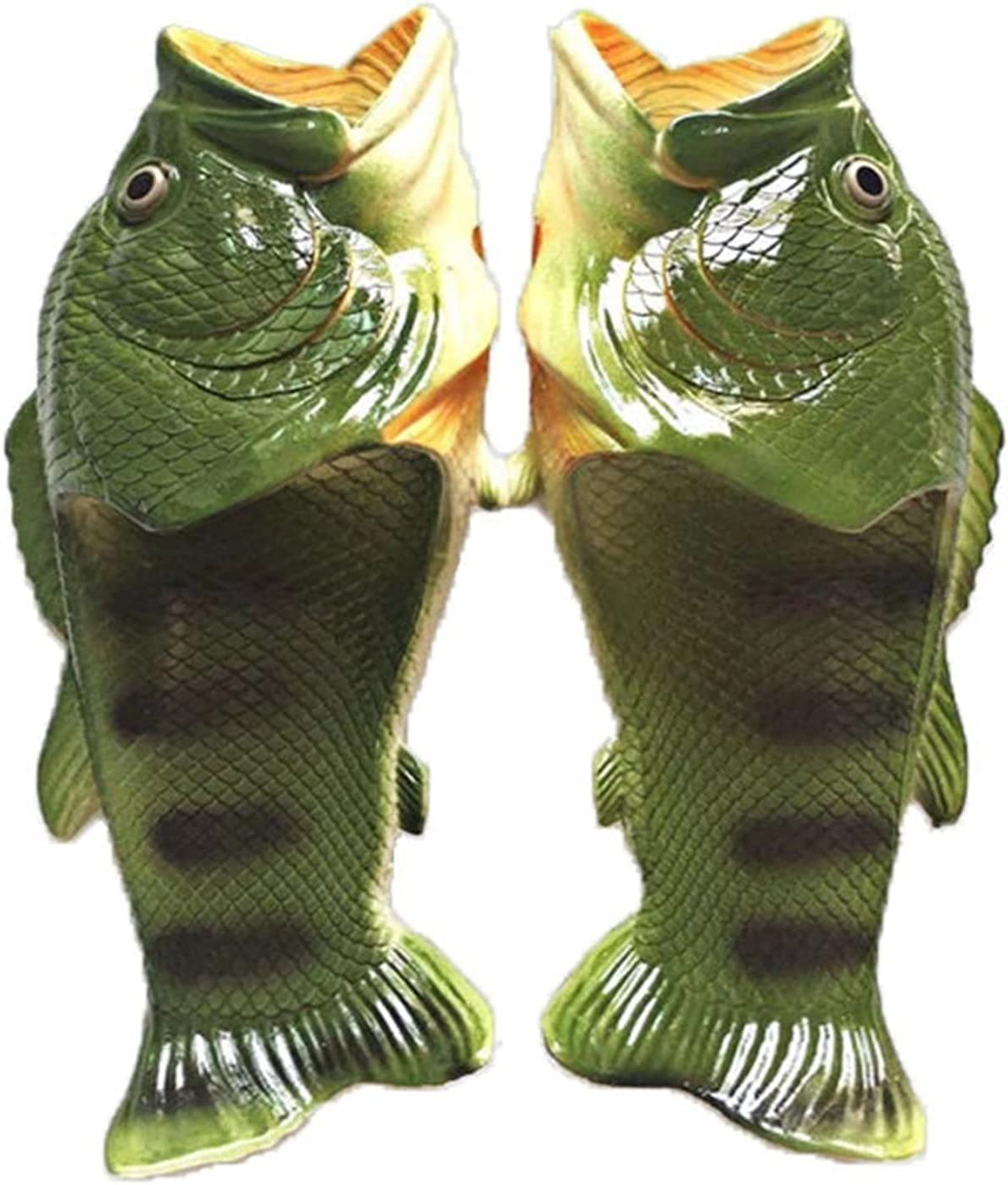 Clearance SALE! Limited time! QUNHU Fish Animal New product type Slippers,The Gi Funny Slippers Original