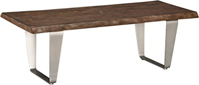 Emerald Home Furnishings T205-00 Sommerville Coffee Table Occasional Collection, Standard, Mahogany