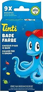 Heidelberger Tinti - Juego colorante Natural para el baño  (Pack de 9: 3 Sobres x3 Colores - Rojo, Azul, Amarillo) [Importado de Alemania] Naturfarben