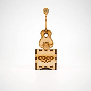 Coco Guitar - Mp3 Music Box. Perfect gift for music lovers.