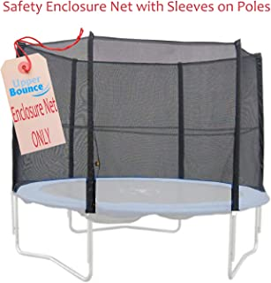 Upper Bounce Replacement Safety Enclosure Net - Installs Outside of Frame