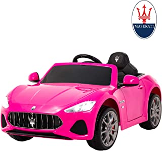 Uenjoy Maserati GranCabrio 12V Electric Kids Ride On Cars Motorized Vehicles for Girls..