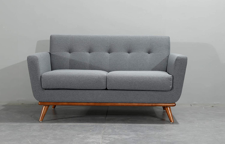 Home Elements Dark Grey 20 Seater Sofa Scandinavian Style FREE UK ...