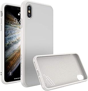 iPhone XS用RhinoShieldケース[SolidSuit]衝撃吸収スリムデザイン保護カバー:プレミアムマット仕上げ[3.5M / 11ftドロッププロテクション] - クラシックホワイト