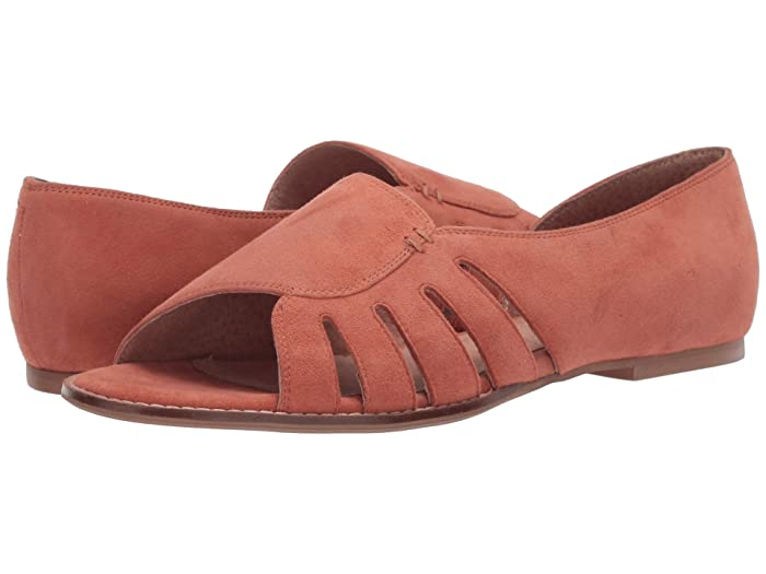 Seychelles  Radiant (Coral Suede) Womens Shoes