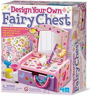 4M - Paint & Make Your Own Fairy Mirror Chest Juego de Creatividad (004M2738)