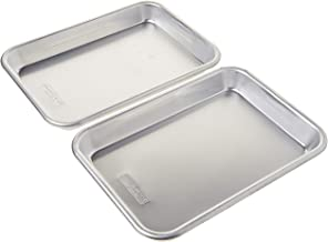 Nordic Ware 36570 Burger Serving Trays - 2 Piece Set, Aluminum