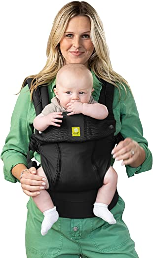 LÍLLÉbaby Complete All Seasons SIX-Position 360° Ergonomic Baby & Child Carrier, World of Warcraft Cute but Deadly Murloc - Lumbar Support