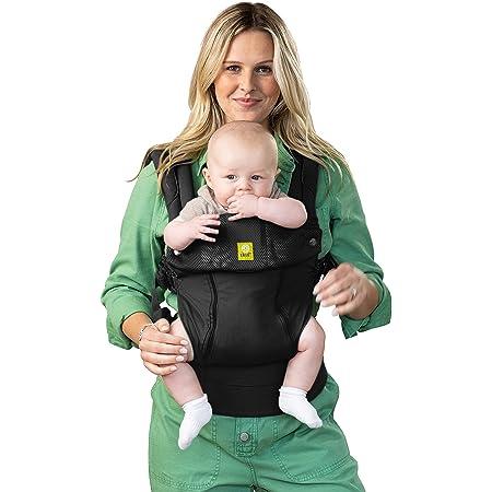 LÍLLÉbaby Complete All Seasons All-Positions Baby Carrier, Black