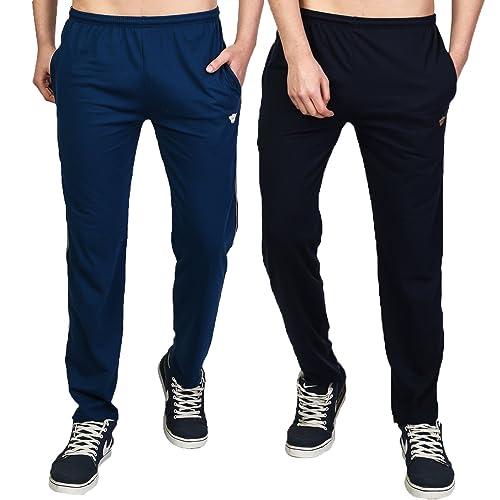 b74de7ecb4c58 White Moon Men's Slim Fit Cotton Jogger Lower Track Pants for Gym, Running,  Athletic