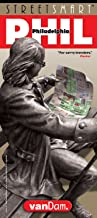StreetSmart Philadelphia Map by VanDam — Laminated pocket size City Center Street & Freeway Map to Philadelphia, PA complete with all attractions, sights, museums, hotels and shopping